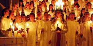 santa lucia saint lucy sweden