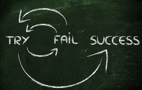 Try Fail Success graphic