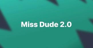 gezonder leven Miss dude 2.0