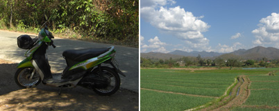 Scooting in Pai, Northern Thailand