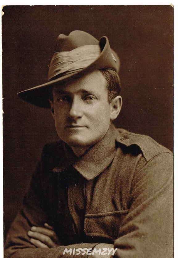 My great grandfather Alfred Nelson White. He fought in the Somme Valley, northern France