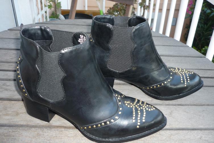 Boots HM soldées 5€