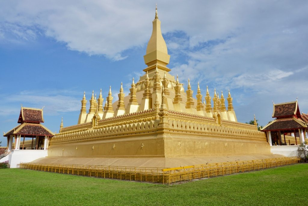 Golden Stupa Things to do Vientiane