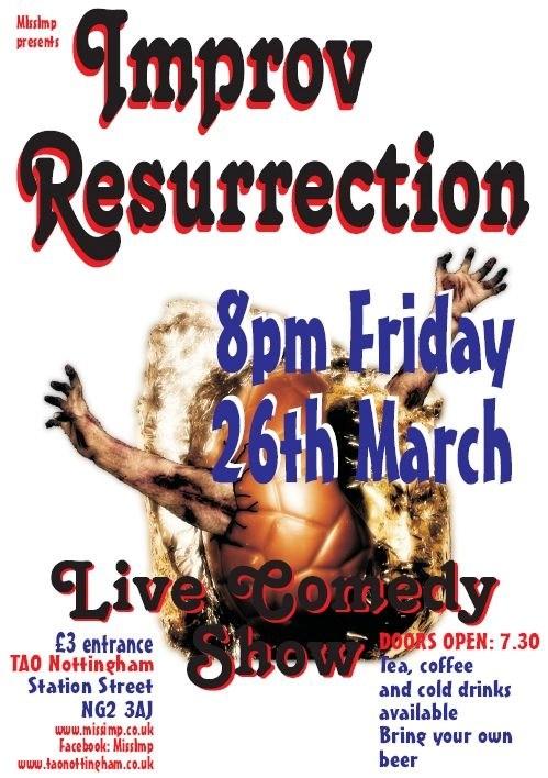 Improv Resurrection - 26th March