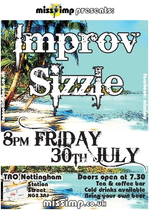 30th July at TAO Nottingham