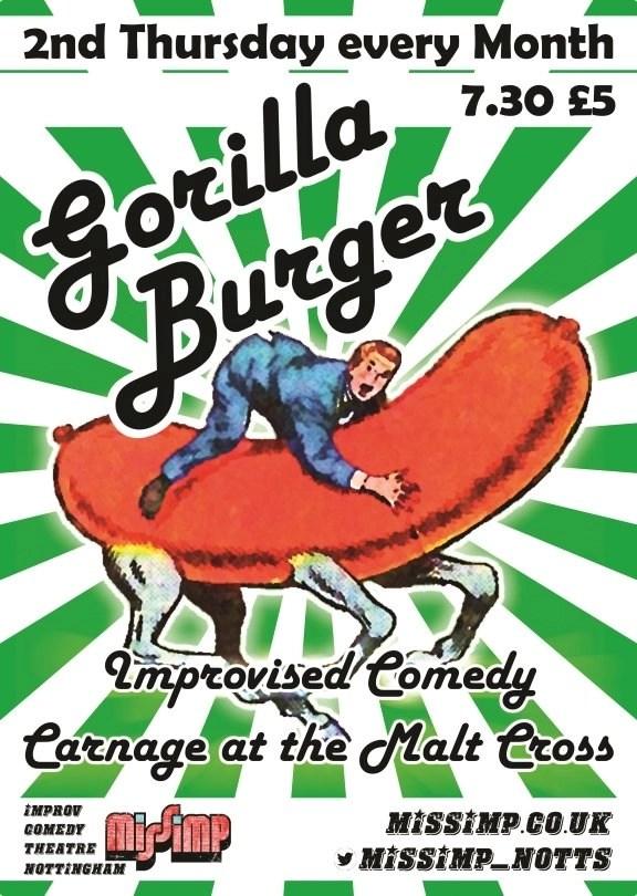 Web Gorilla Burger
