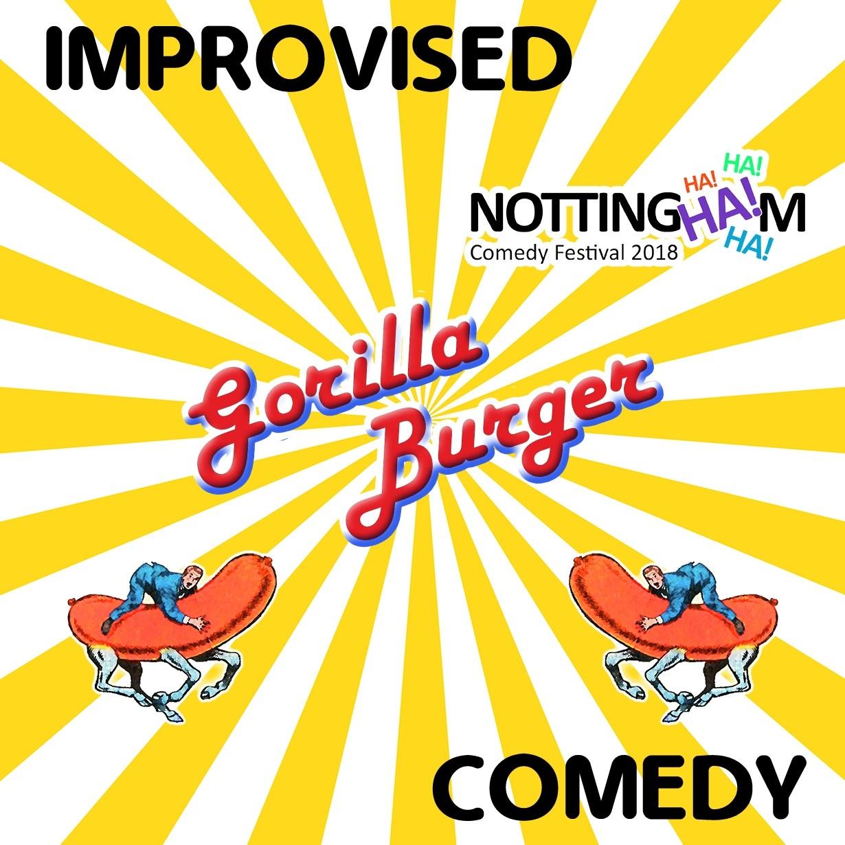 Gorilla Burger at Nottingham Comedy Festival