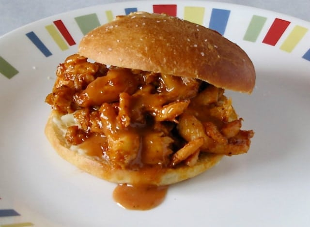 Saucy Chicken Sandwiches