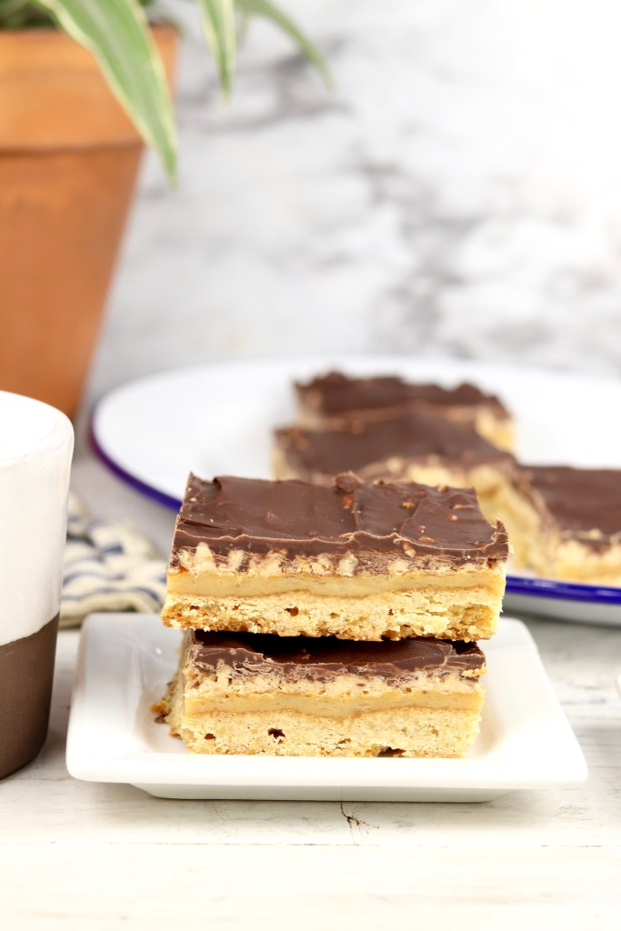 slices of toffee bars