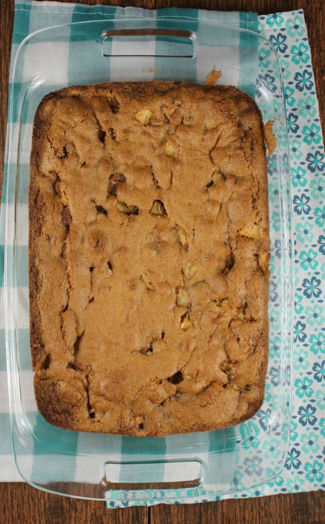 Fresh Apple Cake Recipe from MissintheKitchen ~ Easy dessert perfect for any occasion!