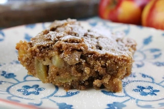 Fresh Apple Cake the perfect autumn dessert from MissintheKitchen.com