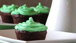 Dark Chocolate & Mint Cheesecake Brownies