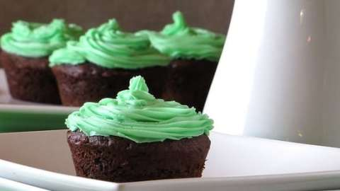 Dark Chocolate & Mint Cheesecake Brownies