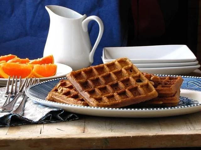 Brown Sugar Cinnamon Waffles | Miss in the Kitchen