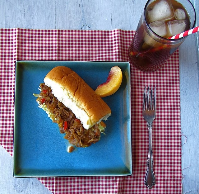 Peach Barbecue Pulled Pork   Miss in the Kitchen