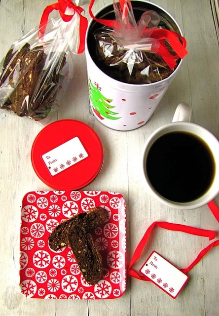 Chocolate Biscotti | Miss in the Kitchen