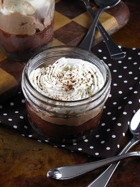 Frozen Mudslide Pies from Desserts in Jars   Miss in the Kitchen
