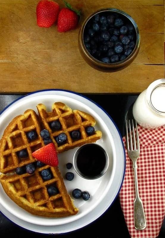 buttermilk-oat waffles   Miss in the Kitchen