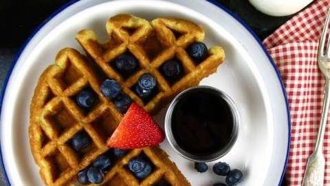 Waffle Wednesday: Buttermilk-Oat Waffles