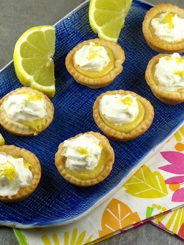 Mini Lemon Pies   MIssinthekitchen.com