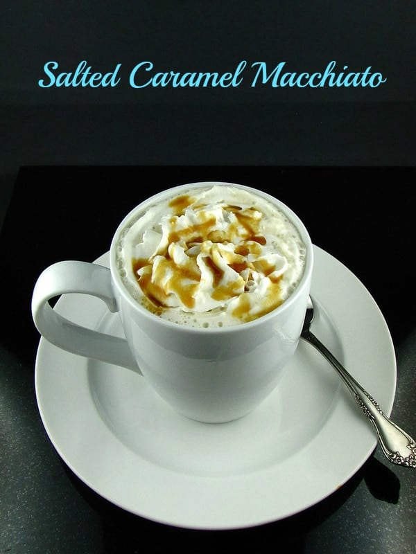 Salted Caramel Macchiato from Missinthekitchen.com
