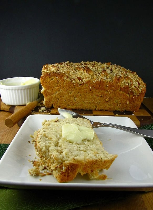 Brown Butter-Ranch Beer Bread - Miss in the Kitchen