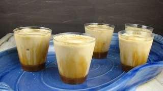 Salted Caramel Macchiato Milk Shake Shots