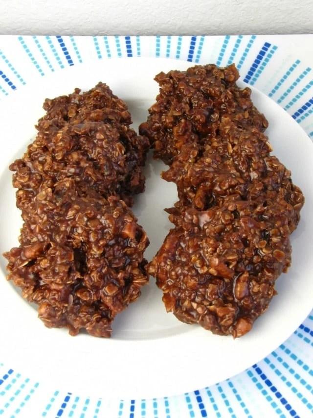 No Bake Cookies with Biscoff and Pecans 2