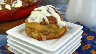 Easy Biscoff Cinnamon Rolls