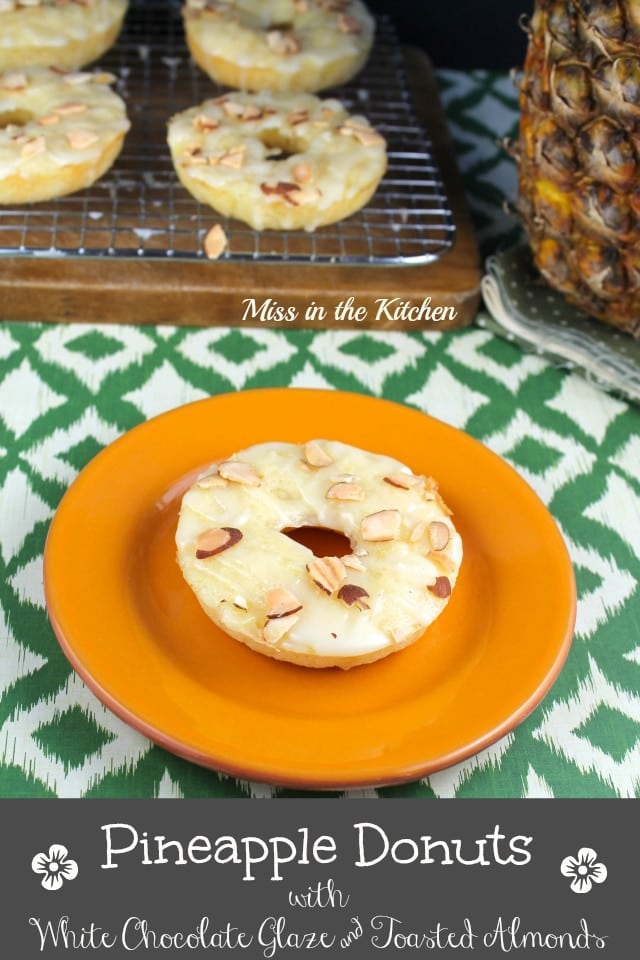 Miss in the Kitchen #pineapple #donuts