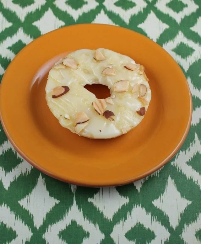 Pineapple Donuts With White Chocolate Glaze Amp Toasted