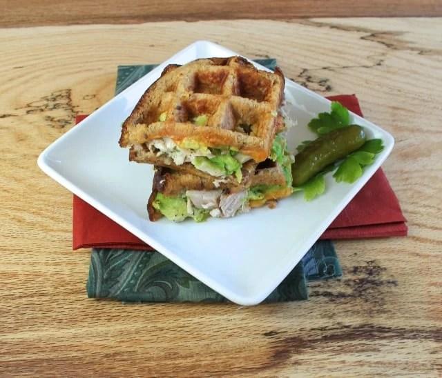 turkey and avocado panini 2