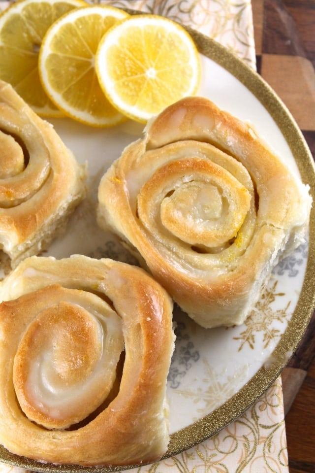 lemon sweet rolls recipe