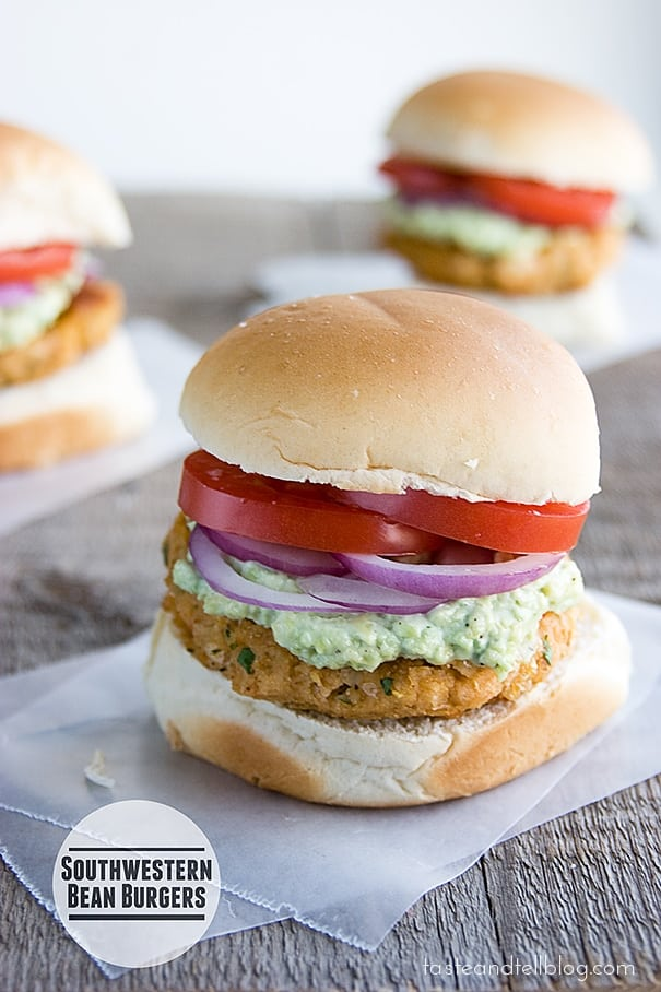Southwestern-Bean-Burgers-recipe-taste-and-tell