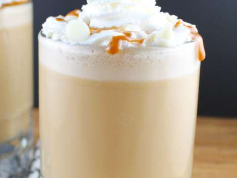 White Chocolate Caramel Frappuccino Miss In The Kitchen