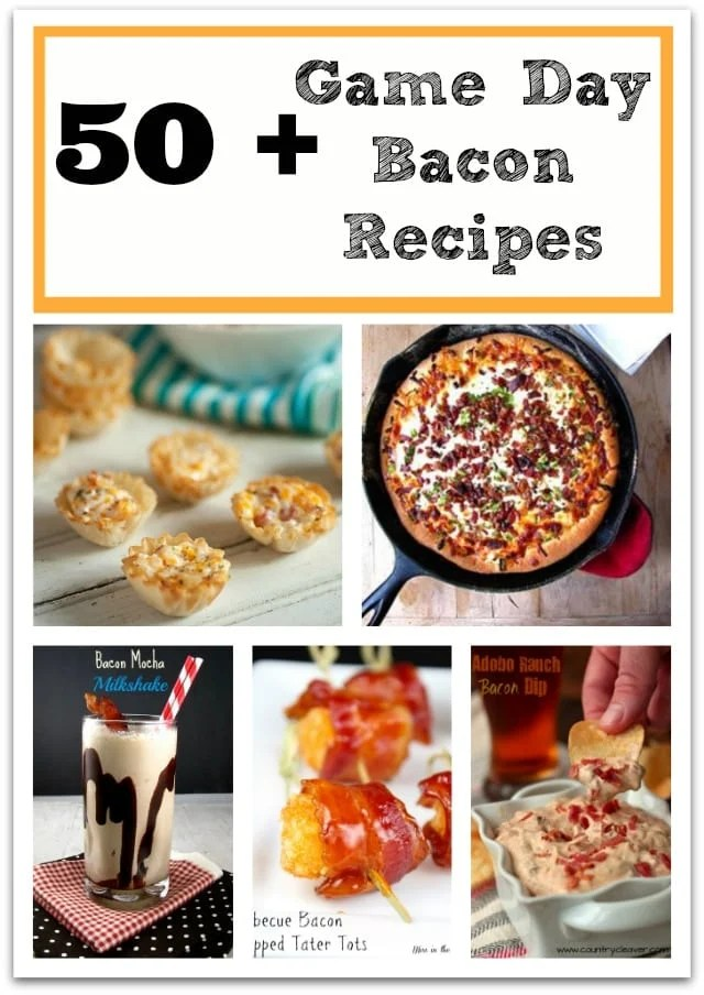 50+ Game Day Bacon Recipes
