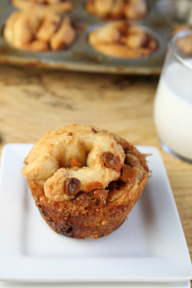 3- Ingredient Cinnamon Chip Muffins from Miss in the Kitchen
