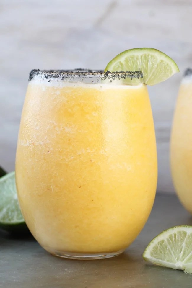 Easy Frozen Peach Margarita Recipe