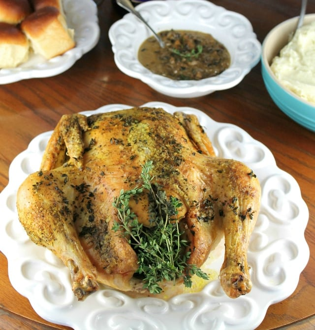 Herbed Roasted Chicken Dinner
