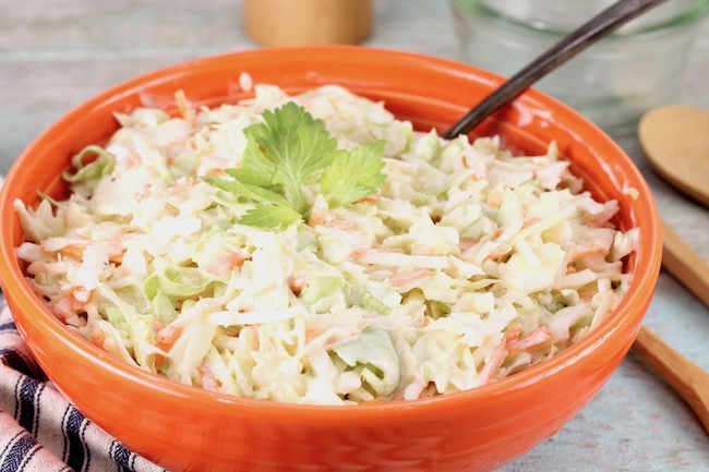 can you make coleslaw the night before