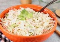 Creamy Coleslaw side dish