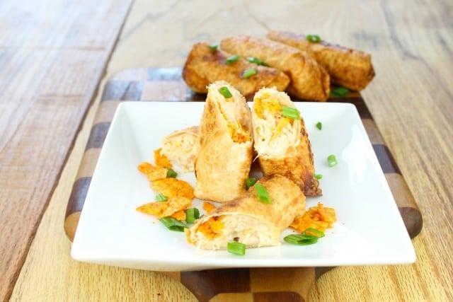 Doritos Chicken Egg Rolls | missinthekitchen