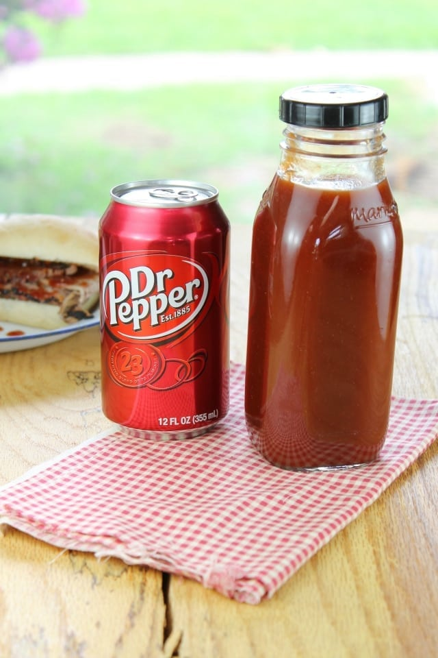 Dr Pepper Barbecue Sauce from Miss in the Kitchen