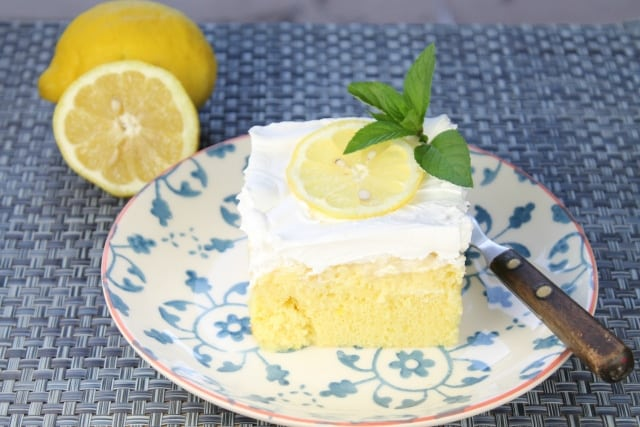 Lemon-Pineapple Poke Cake | Miss in the Kitchen