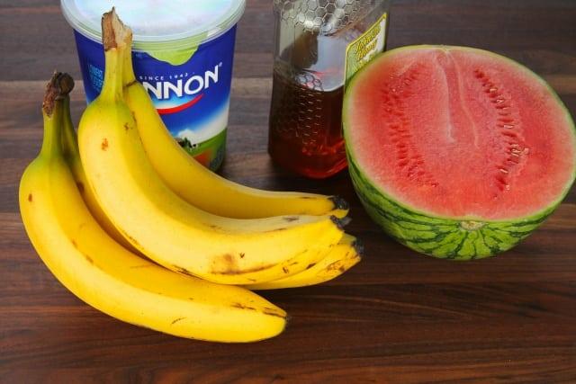 Banana Watermelon Smoothie ingr