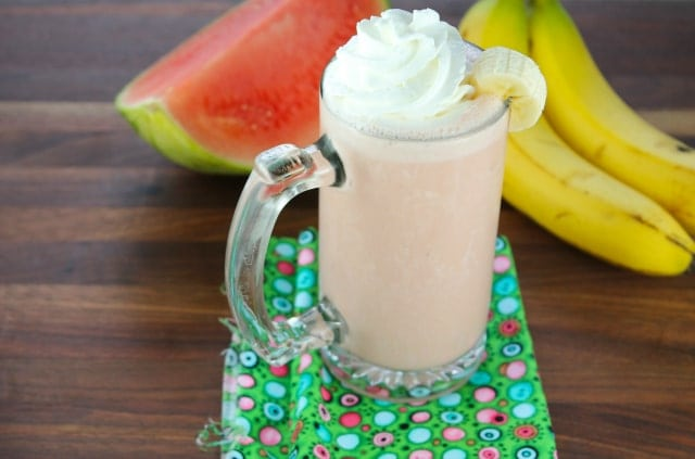 Banana Watermelon Smoothie miss in the kitchen