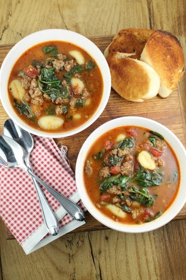 Italian Gnocchi Soup