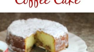 Easy Holiday Coffee Cake