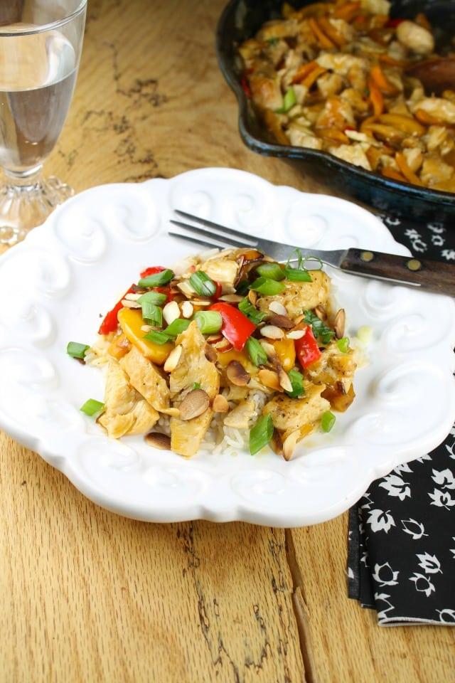 Easy Orange Skillet Meal From missinthekitchen.com