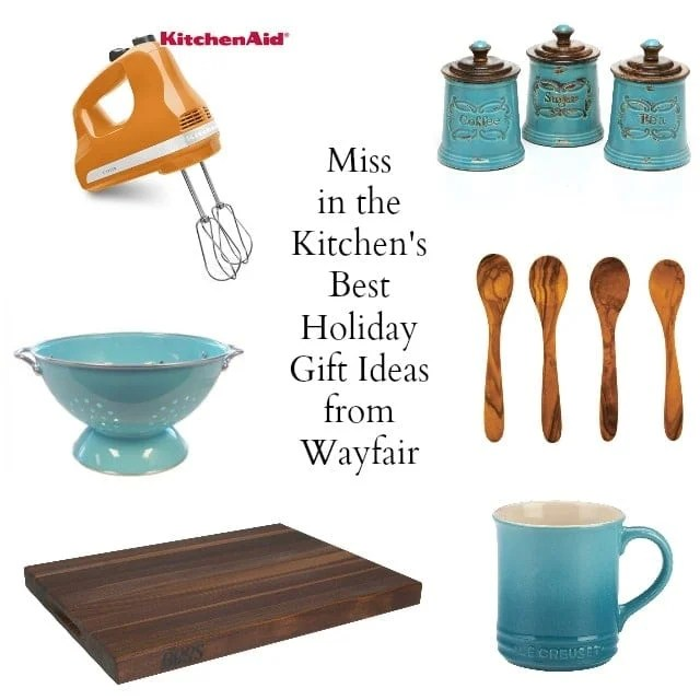 Miss in the Kitchen's Best Holiday Gift Ideas from Wayfair